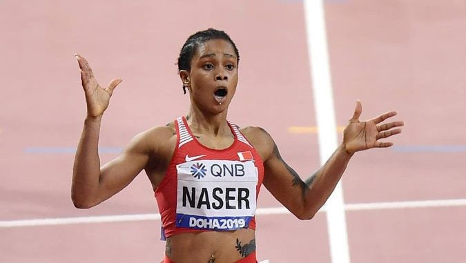 400m world champion, Salwa Eid Naser of Bahrain was given a provisional suspension for whereabouts failure