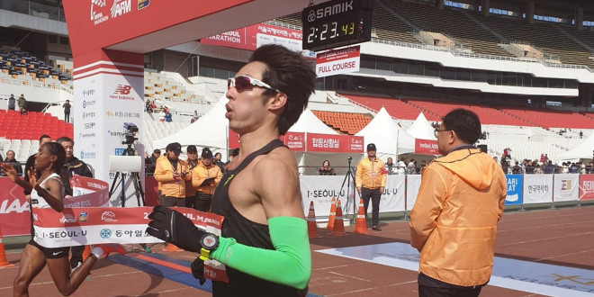 Soh Rui Yong broke a 24-year-old record at Seoul Marathon