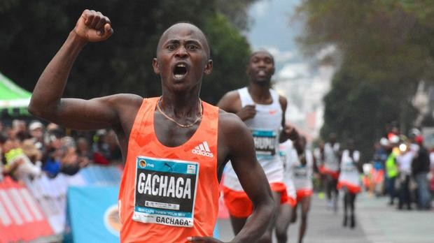 Morris Gachaga wins Cape Town 12 OneRun 15 seconds off his world best time for 12k