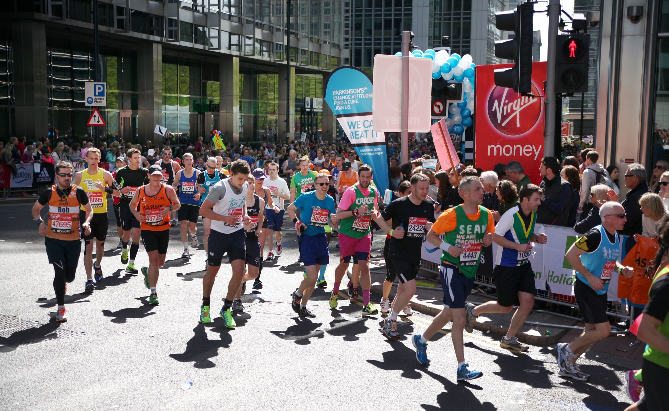 The total amount raised through the London Marathon will top 1 billion pounds this year ($1,319,000US)