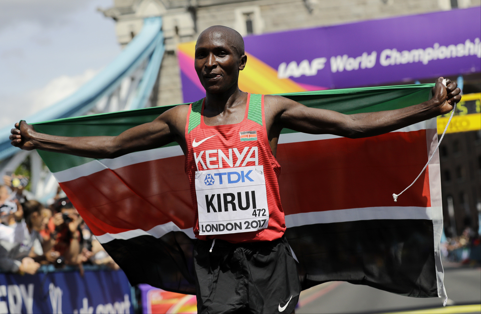 Kirui aiming for further marathon greatness