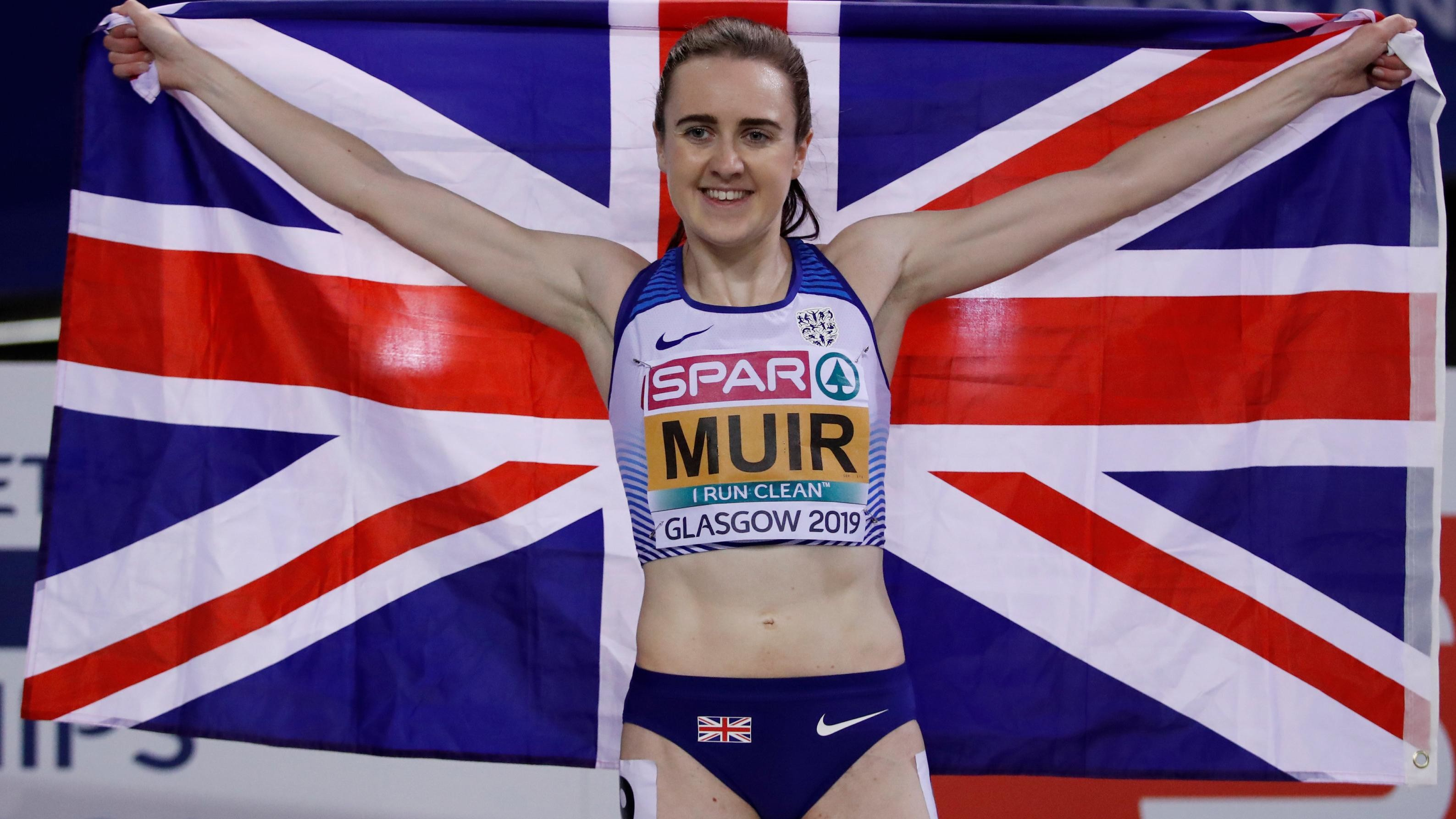 Laura Muir is ready to race the Vitality Westminster Mile the world's biggest timed mile event