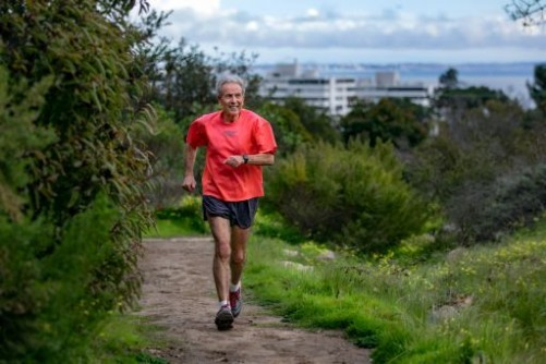 Dr. Zab Mosenifar, 70, has run every day of his adult life, and he is set to run his 100th marathon this Saturday at the Catalina Island Marathon