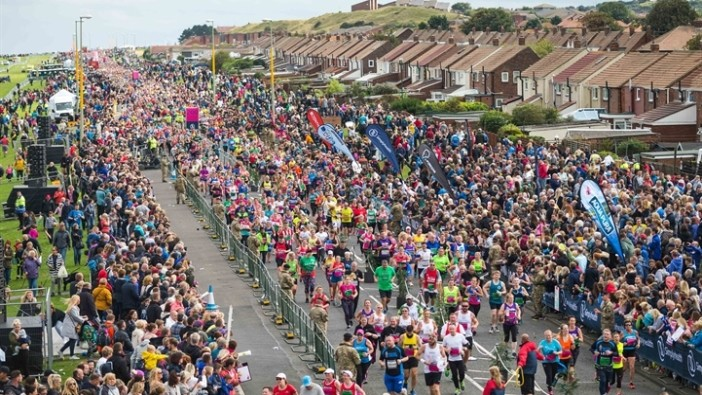 Great North Run is the World's Largest Half Marathon