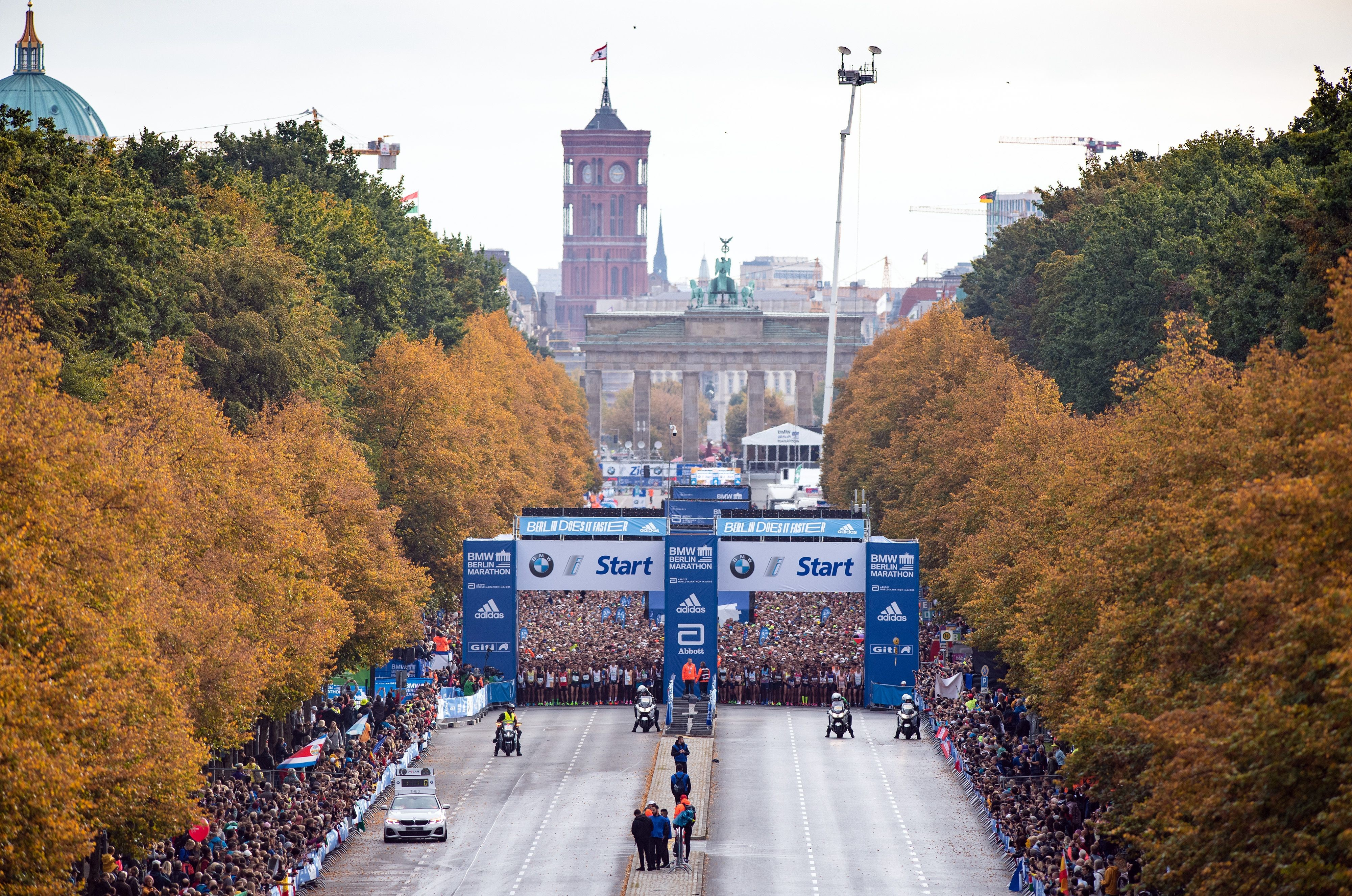 The Berlin Marathon can´t be held as planned in September because of new restrictions in the city related to the coronavirus pandemic