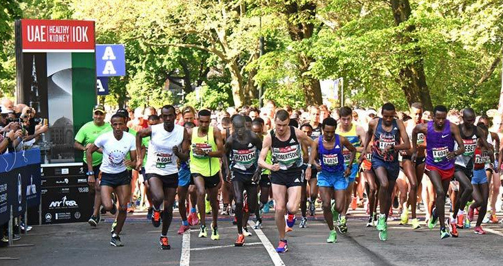 A world class elite field set for the UAE Healthy Kidney 10K Sunday