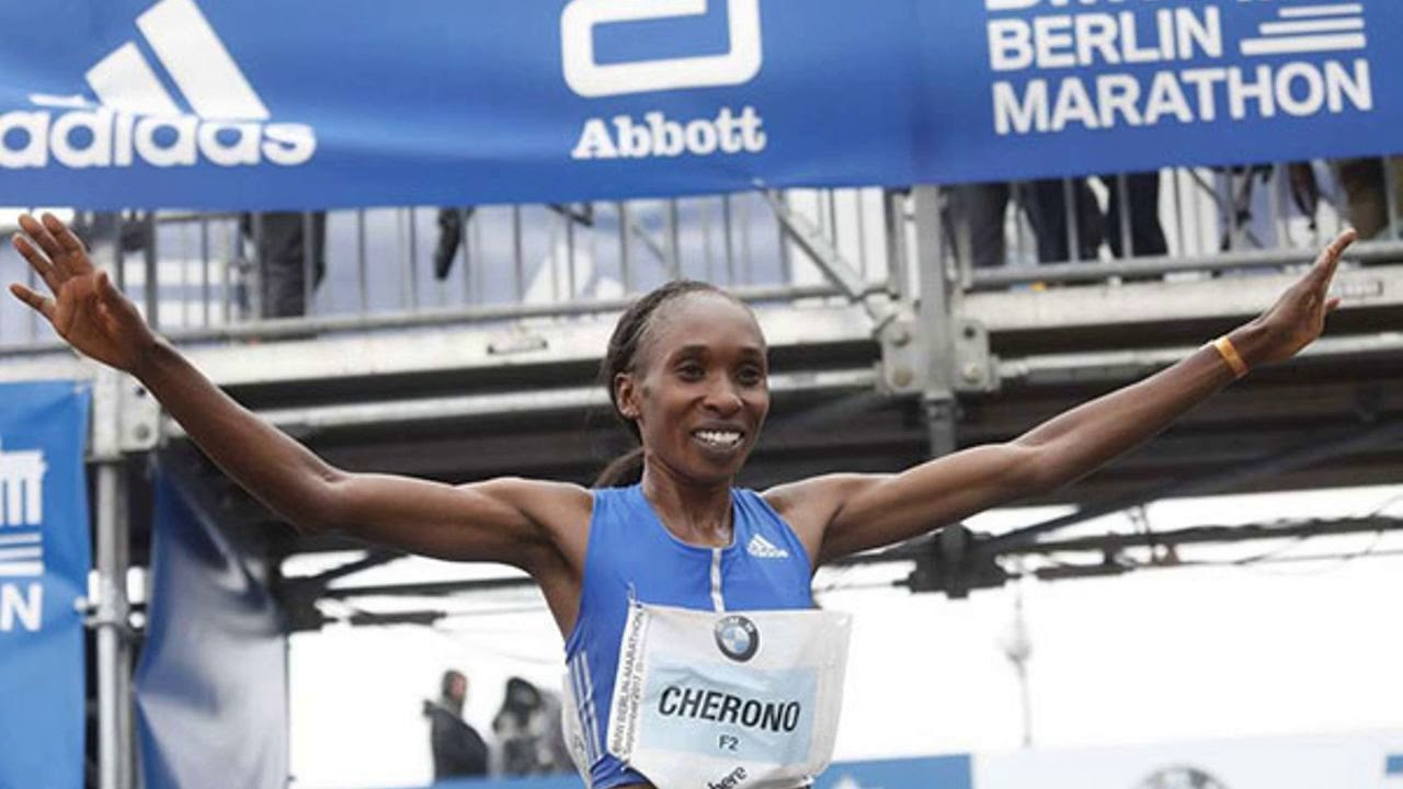 Kenya's Gladys Cherono wants to improve on her Berlin marathon course record and win fourth Berlin marathon title