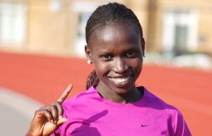 Defending London Marathon champion Vivian Cheruiyot, says a women-only world record could be broken Sunday