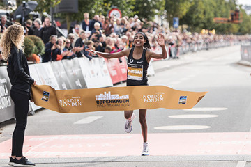 Sudan Hassan sets European record at the Copenhagen Half Marathon