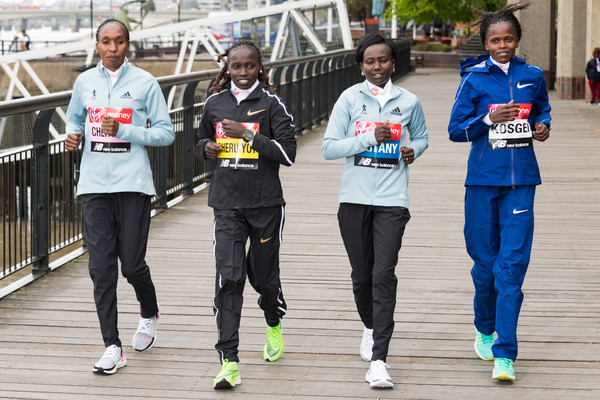 The London marathon has announced a strong women´s field that includes six women who've run under 2:20