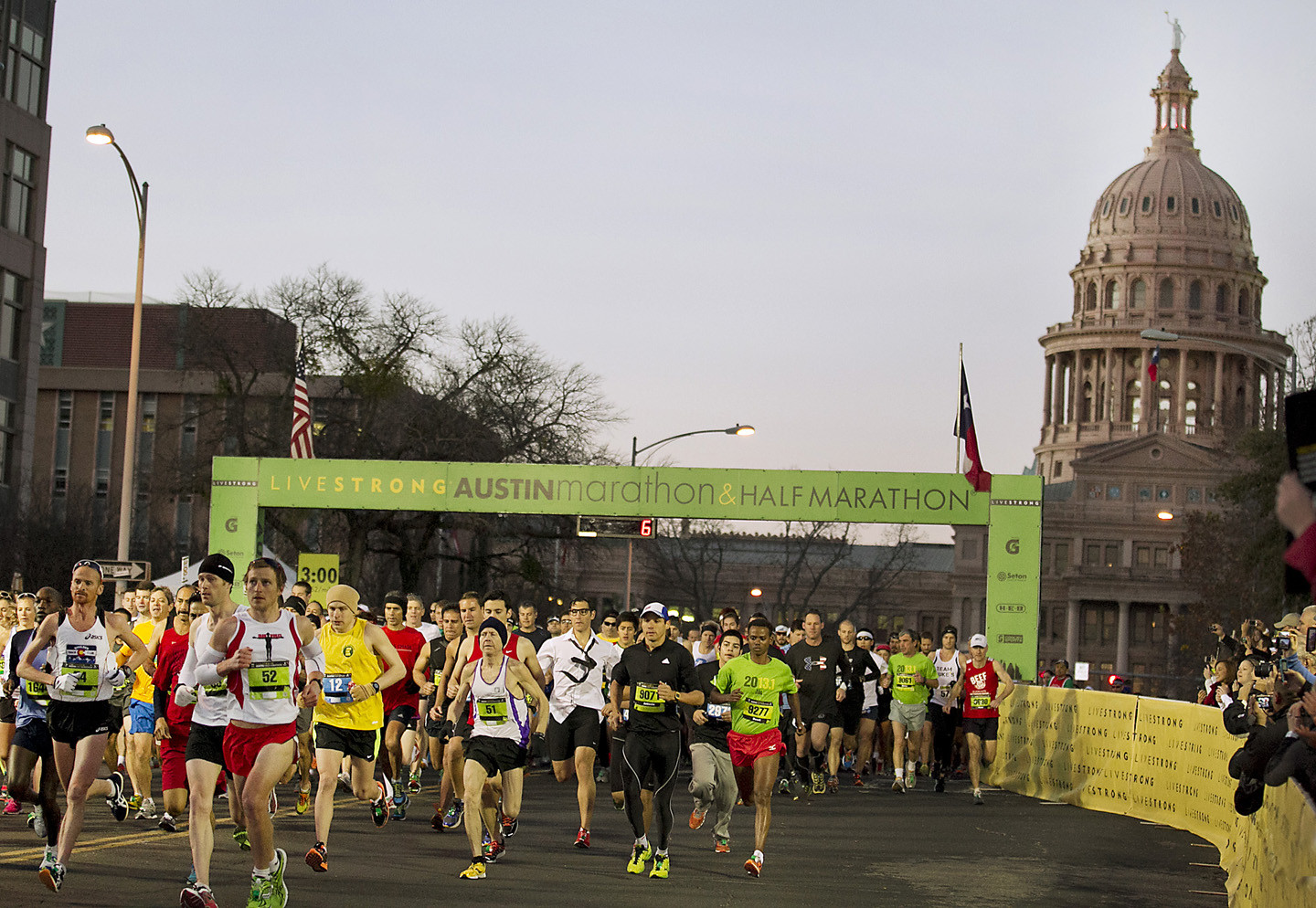 Camp Gladiator will be a new partner for the 28th annual Austin Marathon