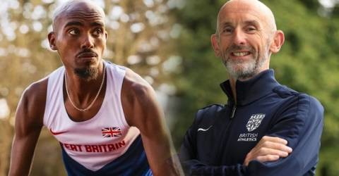 Sir Mo Farah pays emotional tribute to former trainer Neil Black after his sudden death