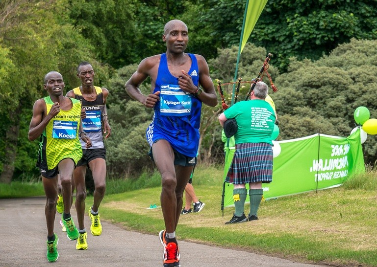 Edinburgh Marathon champion Julius Kiplagat Korir, hopes to claim victory at  this year's Standard Chartered Nairobi Marathon on October 28