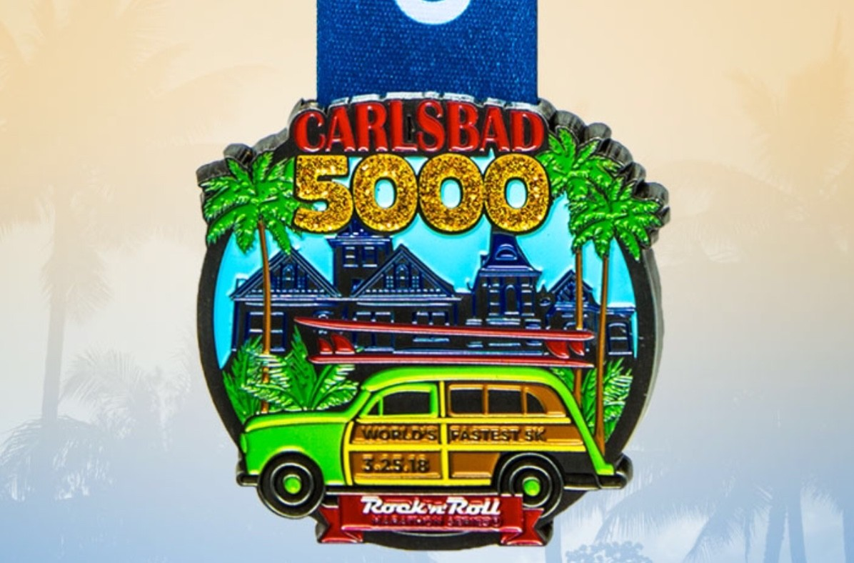 This will be my 25th year running the Carlsbad 5000 March 25