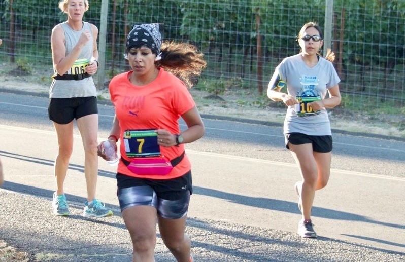 Global Run Challenge Profile: Swetha Amit says that when the endorphins kicked in after  her first half she was hooked