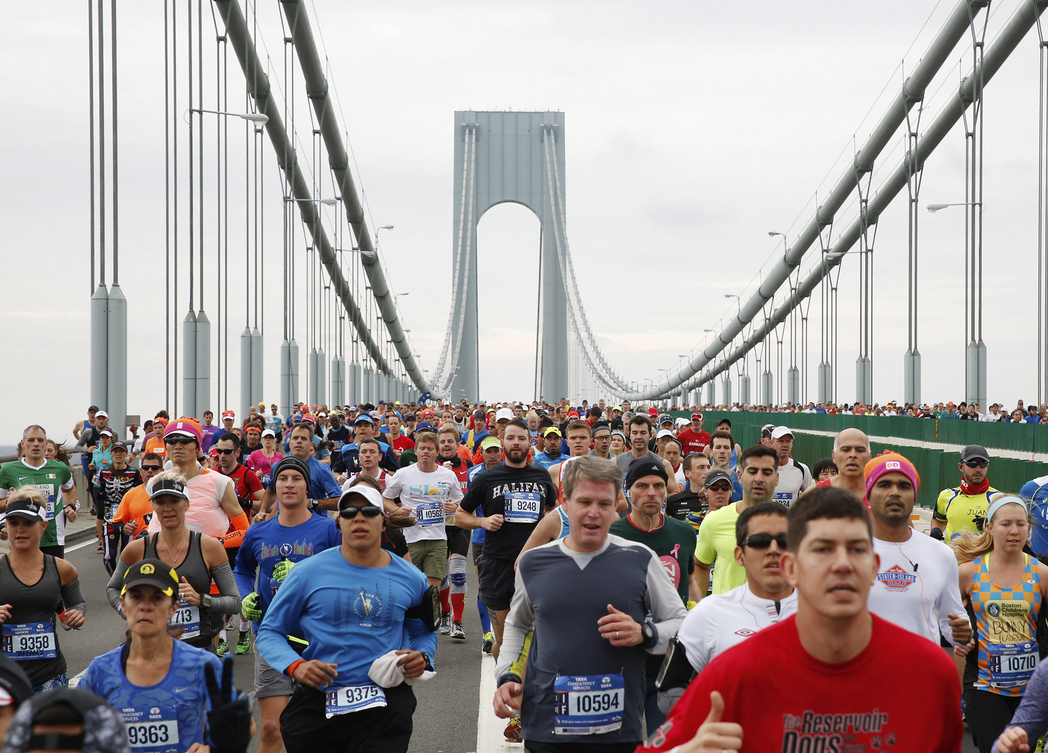 If you can't actually be in New York for the Marathon you can run the world's largest marathon through their Virtual program