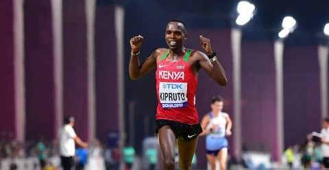 World marathon bronze medalist Amos Kipruto is planning to break the course record on his second appearance at Tokyo Marathon