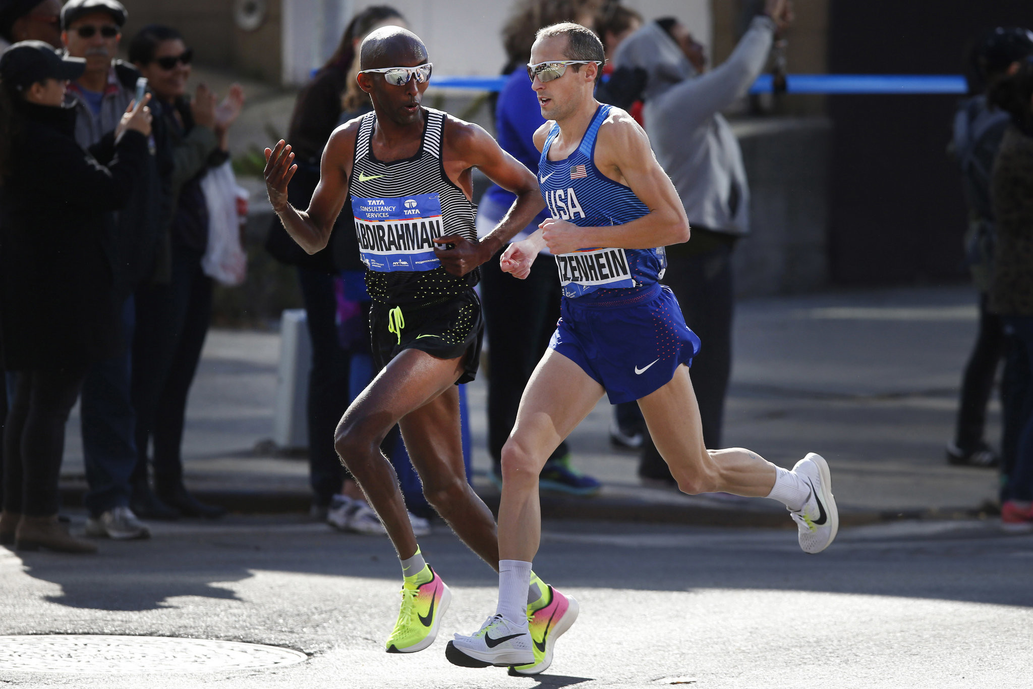 Dathan Ritzenhein rans 1:01:24 half marathon in New Orleans as he gets ready to run Boston in April