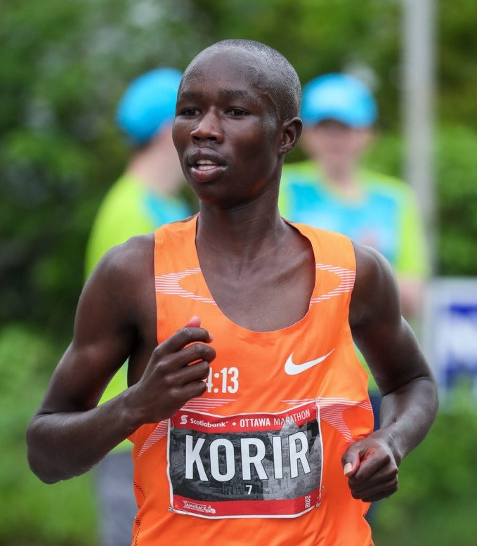 John Korir whose older brother Wesley Korir won the Boston Marathon in 2012, joins elite roster at Scotiabank Toronto Waterfront Marathon