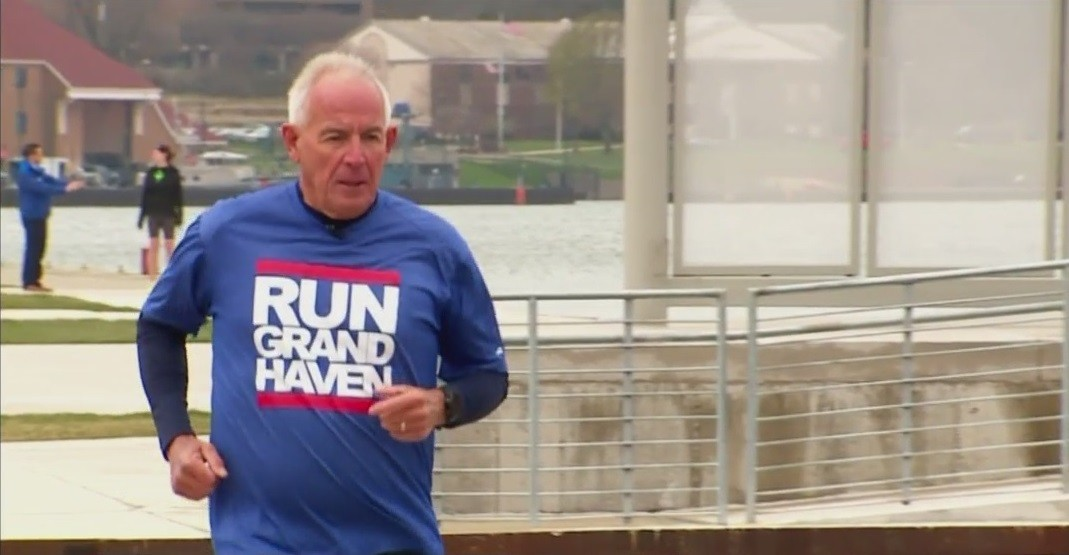 Bruce TerBeek ran his first Riverbank Run in 1981, since then he fell in love with running and gained a community he now calls family