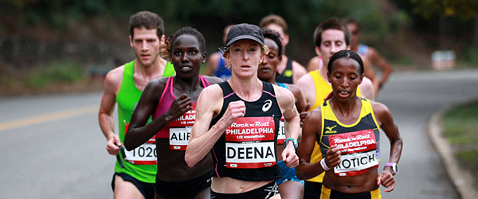 Olympian Deena Kastor share her secrets to success in her new book Let Your Mind Run