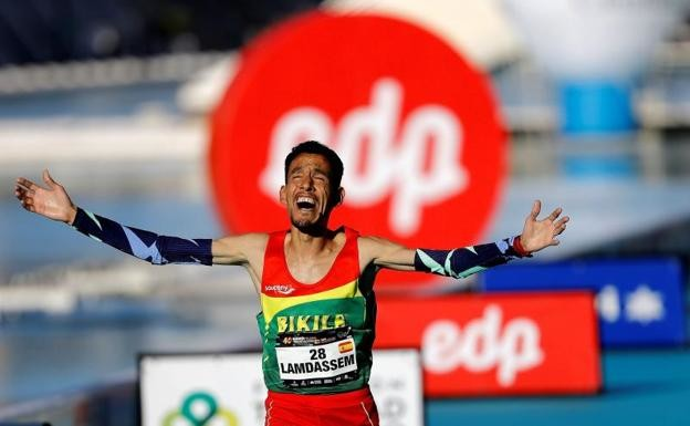 Ayad Lamdassem breaks Spanish record with 2:06:35 in the Valencia Marathon