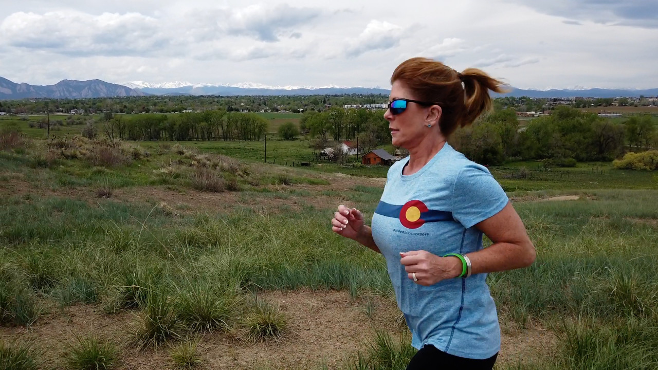 Kathy Lynch is hoping to complete her first BOLDERBoulder since liver transplant, this Monday