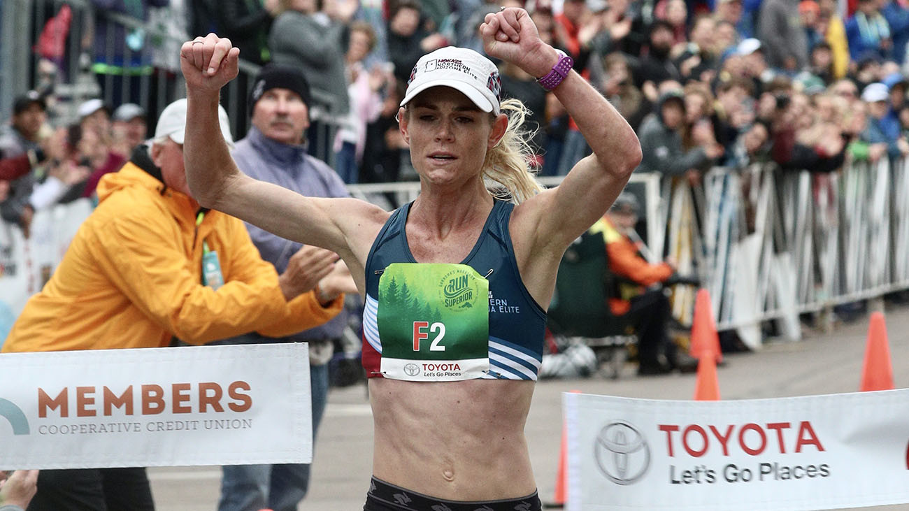 Kellyn Taylor sets women's record at Grandma's Marathon breaking her PR by over four minutes