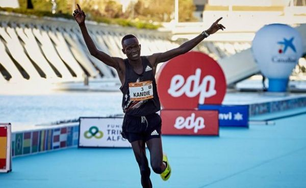 Kenya's half marathon record holder Kibiwott Kandie says he is shifting his focus to the 10,000m and looks to earn a ticket for this year's Tokyo Olympics