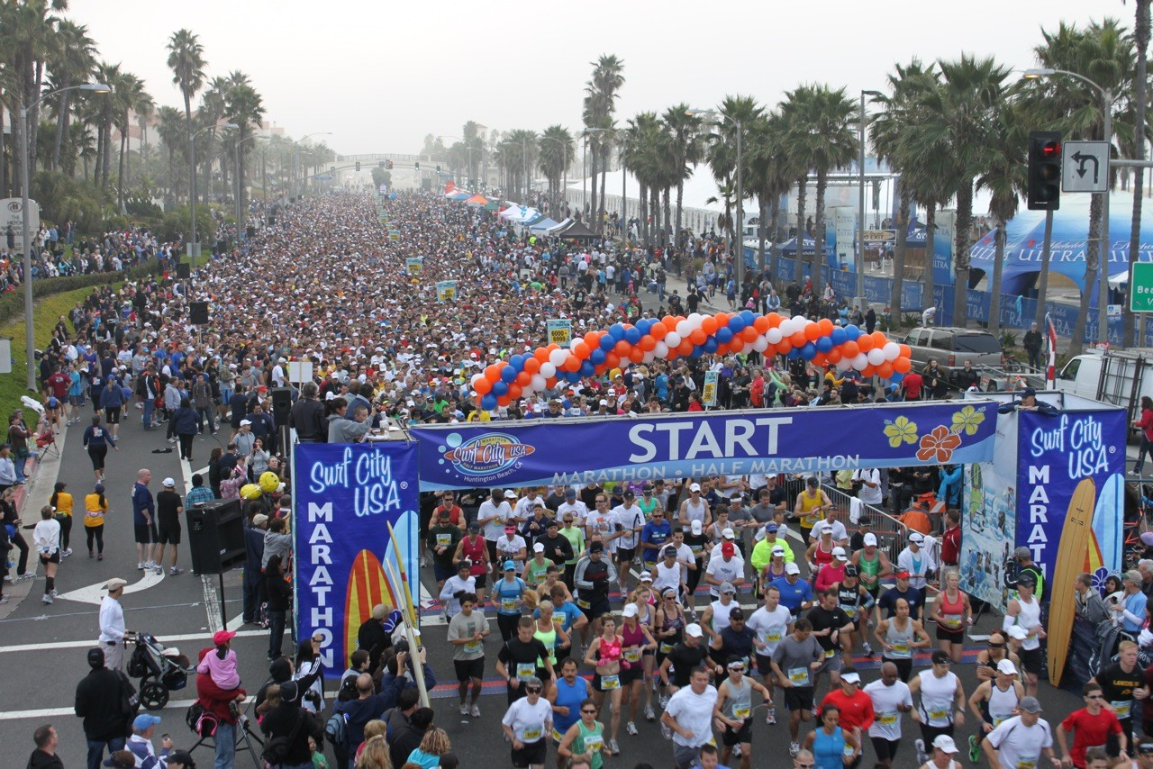 Surf City Marathon Kicks Off the Big Game Weekend with Running Activities for Everyone