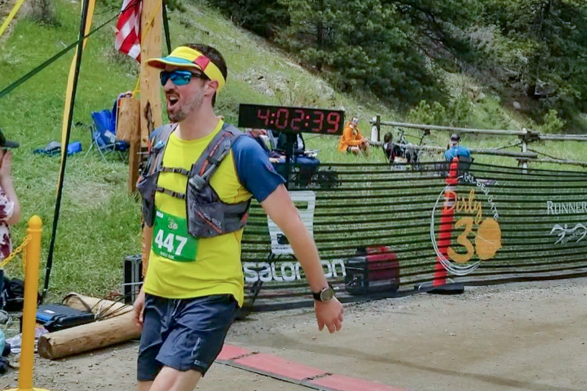 Armin Gooden is set to compete at the Leadville 100-Mile Trail Race this Saturday