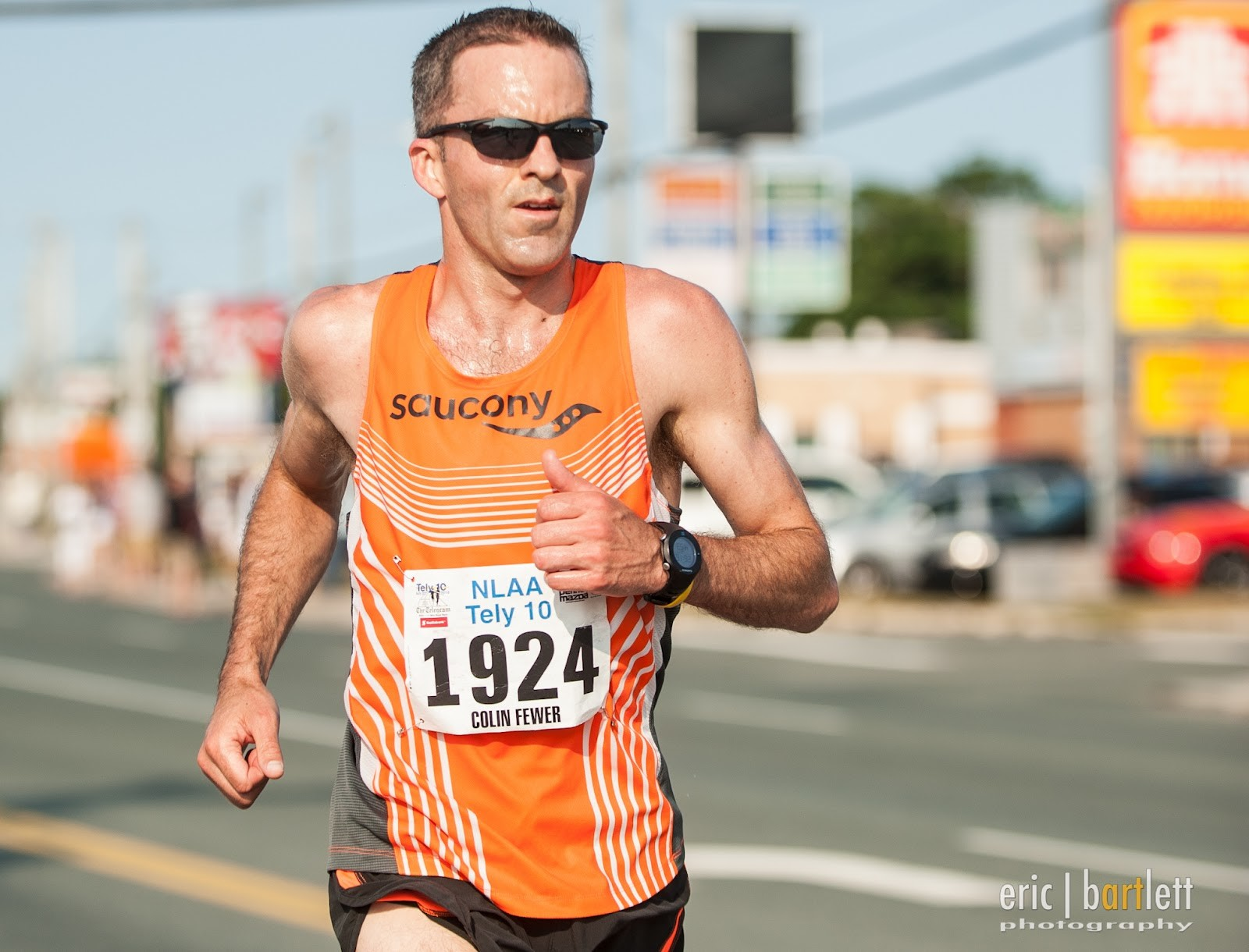 41-year-old Colin Fewer still feel he has not run his best Tely 10