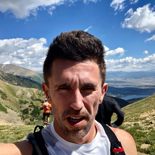 Ultra marathoner Matthew Porter with a life-changing of back neurolical disorder diagnosis is  training for the Leadville Trail 100