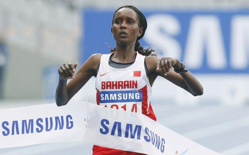 Rio's Silver Medalist in the women's marathon has been suspended over doping