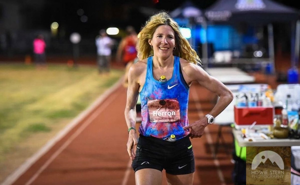I told my training partner 10 years ago, I'll never run an ultra says Camille Herron