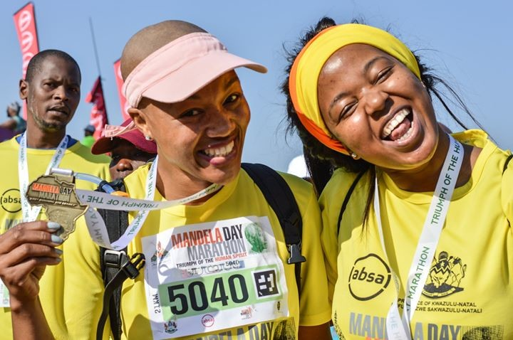 The Mandela Day Marathon participation of female runners has been growing more and more each year