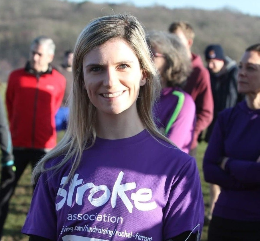 Rachel was told she would never walk again nine years ago, now is running the London Marathon