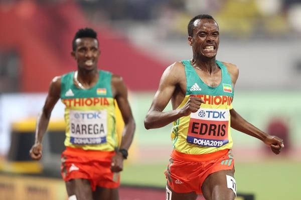 Ethiopian Muktar Edris went from being an underdog to being a two time world champion