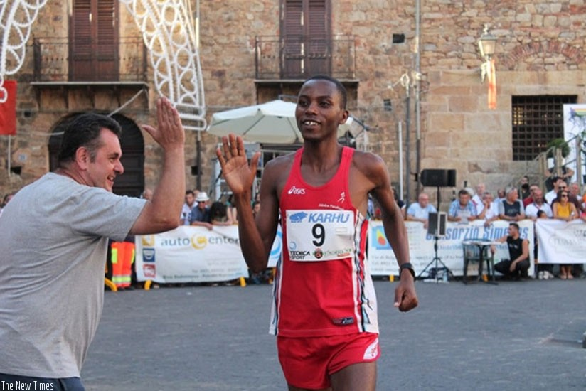 Rwandan Felicien Muhitira, is aiming to set new record at Marvejols-Mende