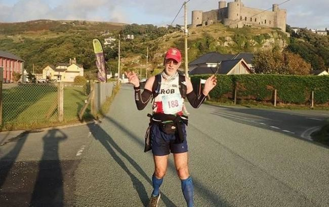 Rob Davies biggest challenge is the 58 mile  Comrades ultra marathon coming up June 10