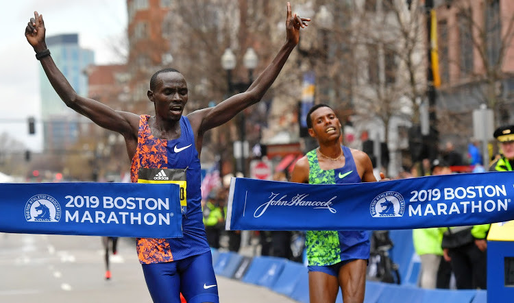 Boston champ  Lawrence Cherono can't wait for December 6 when he lines up against 16 other marathoners at the Valencia Marathon
