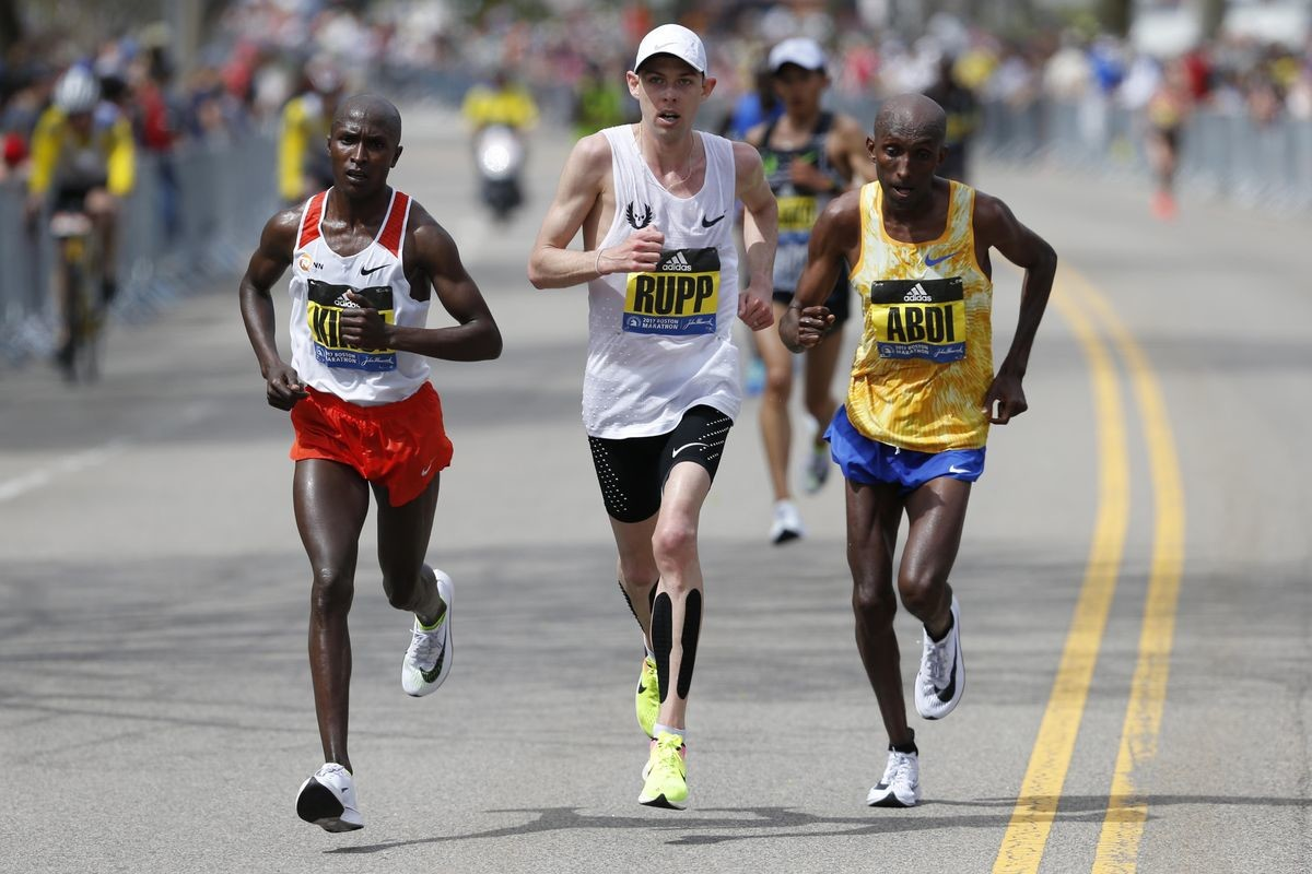 Galen Rupp was so ready to run well in Boston but the weather got in the way, next up Prague!
