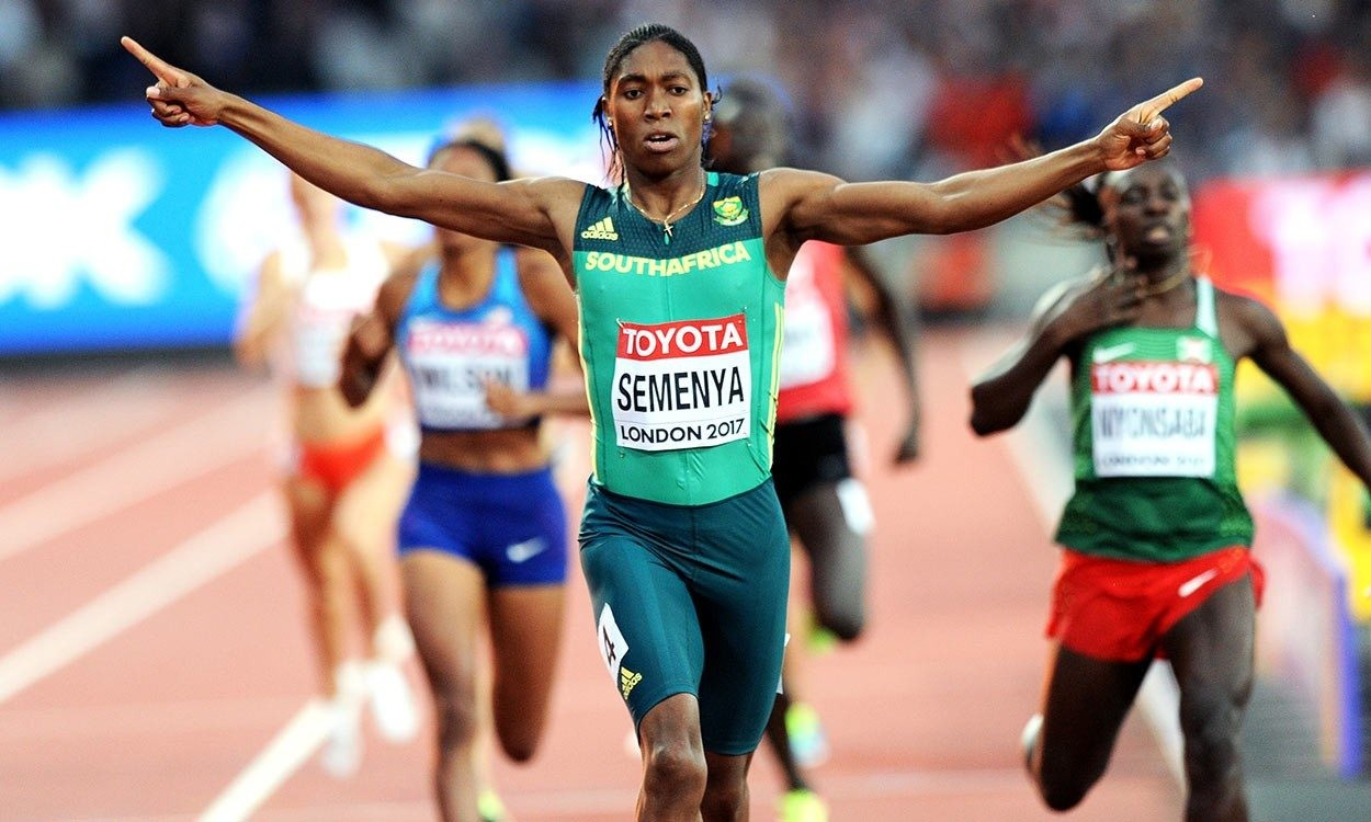 New IAAF rule might slow Olympic 800m Champion Caster Semenya by seven seconds