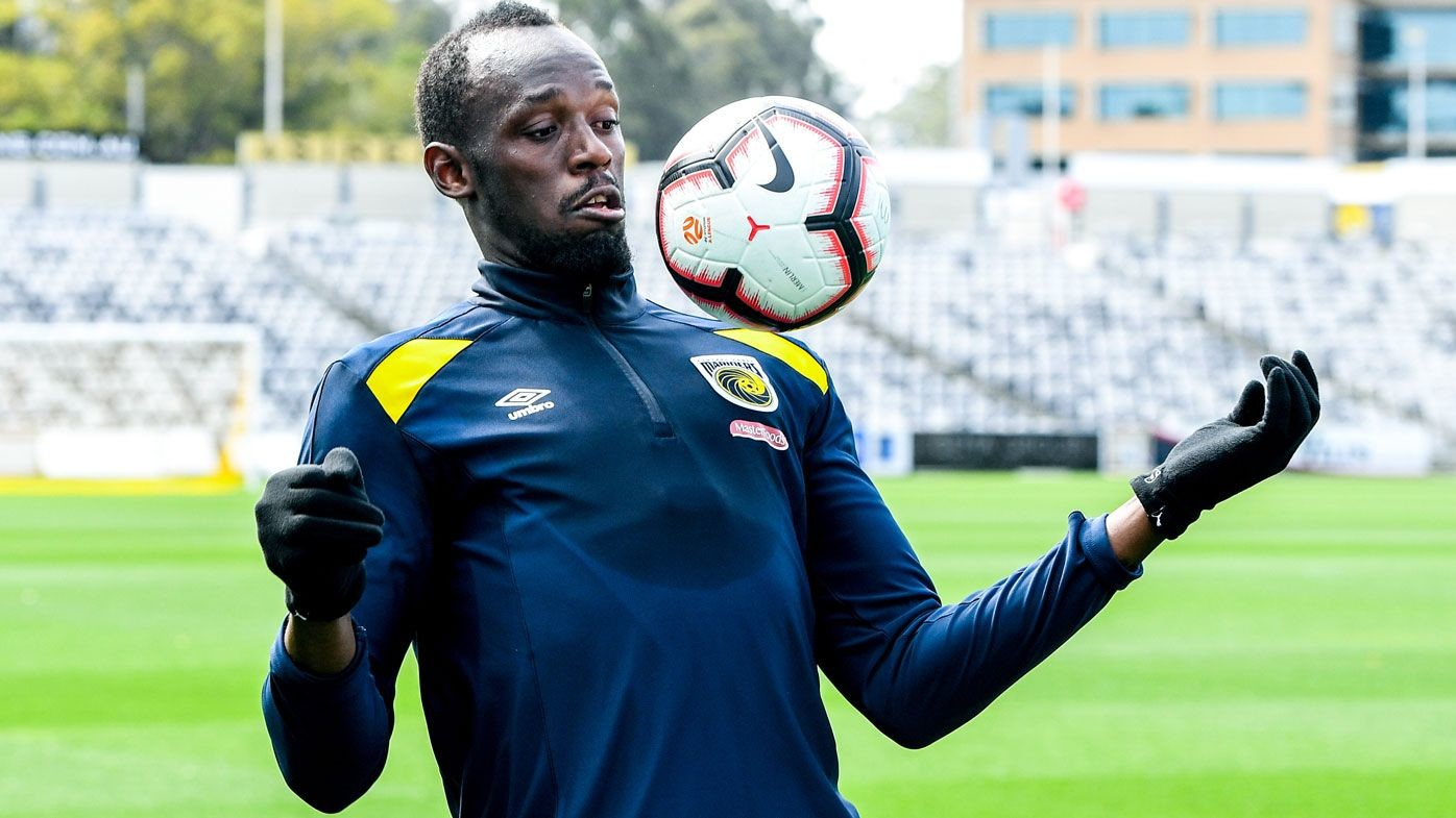 Usain Bolt is set to make his soccer debut, despite saying he is struggling with the physical demands of professional soccer