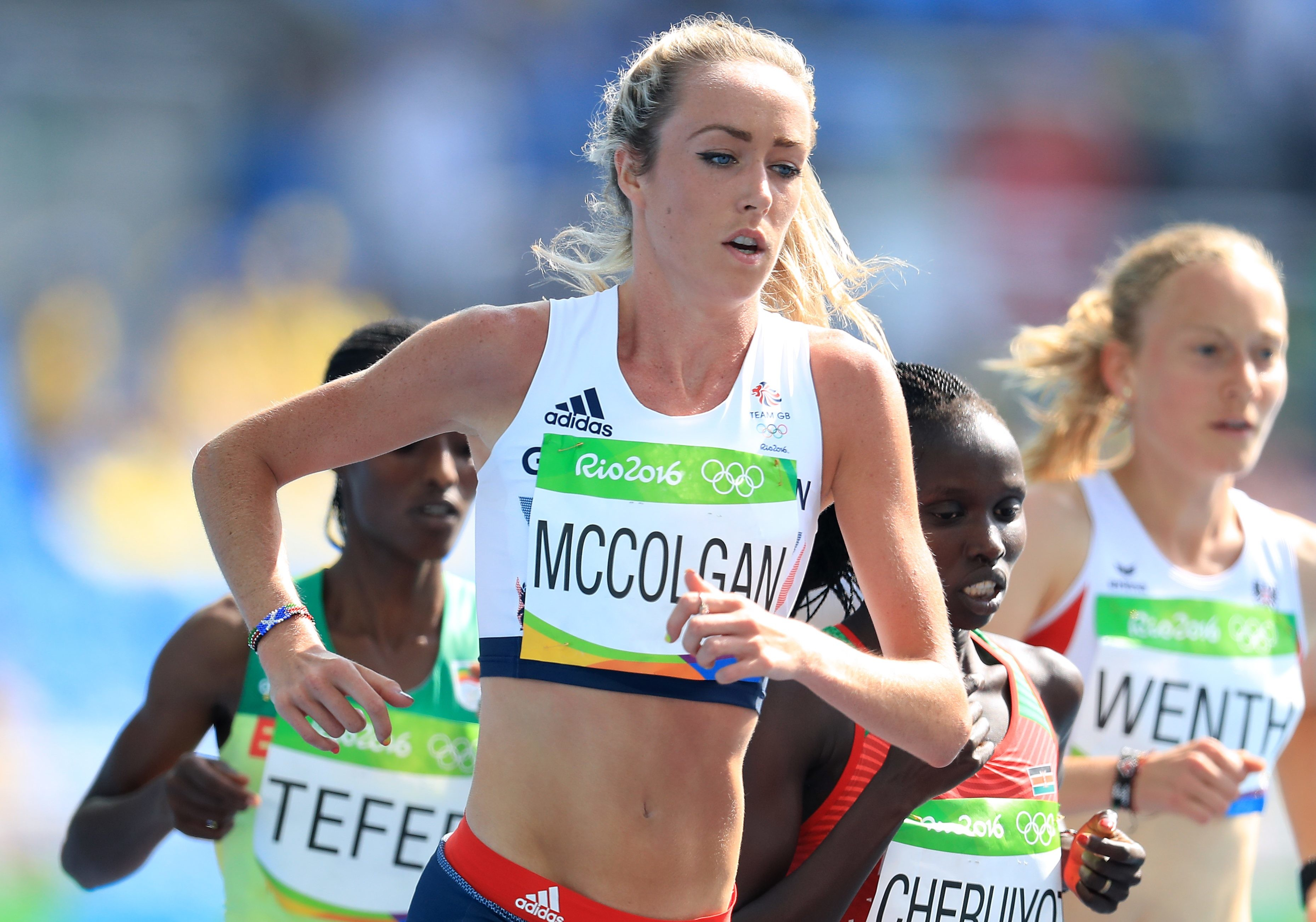 Fast Start For Eilish McColgan at the Ooredo Event
