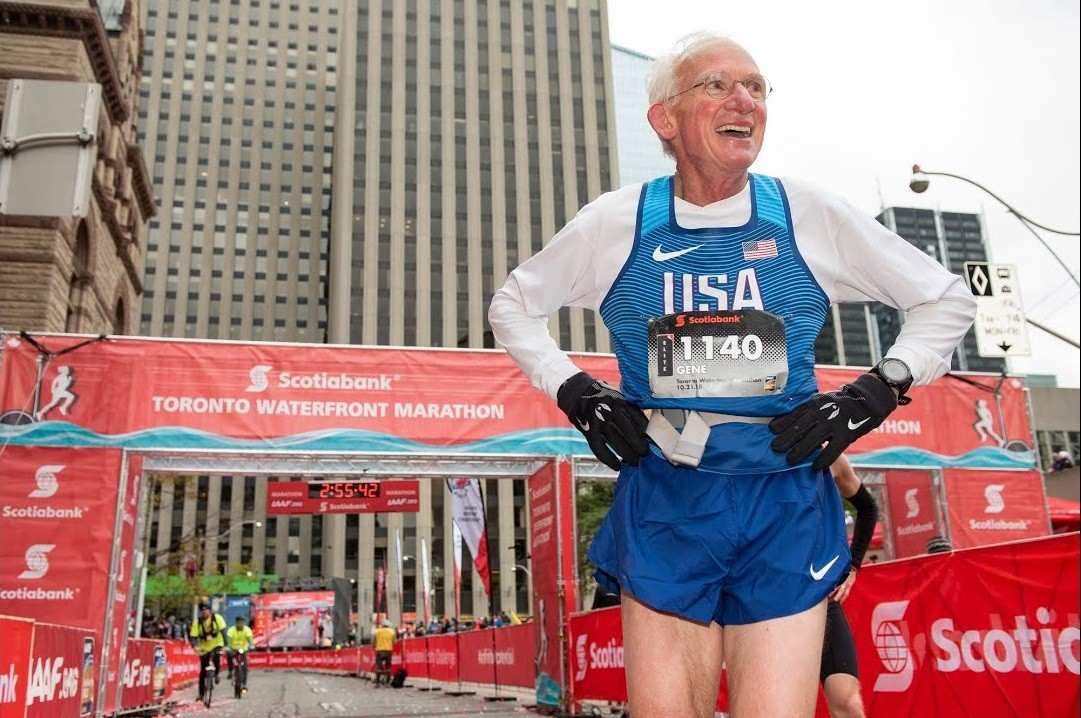 Gene Dykes was hoping to break Ed Whitlock's M70 record at STWM, but a lingering illness has taken him out of contention