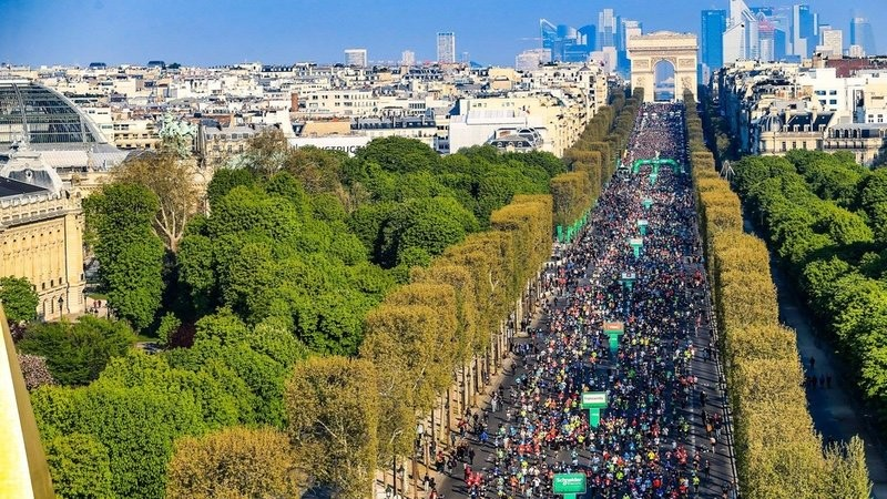 Schneider Electric Paris marathon has been cancelled as COVID-19 cases pick up in France
