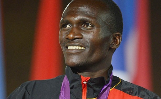 Past Olympic champion Uganda´s Stephen Kiprotich is set to run the Haspa Marathon Hamburg April 28