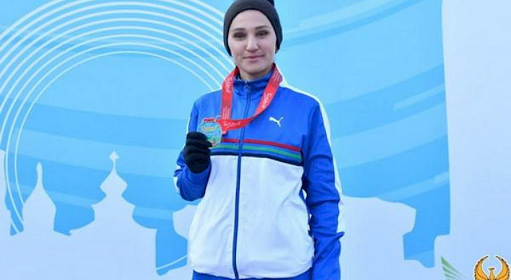 Kyrgyzstani runner Maria Korobitskaya won a license to compete in the Tokyo Olympics