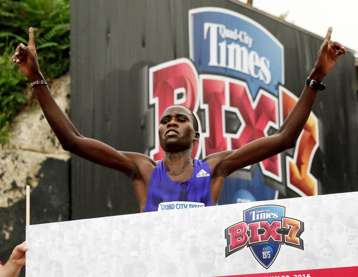 Three-time Bix 7 men's champion Silas Kipruto is coming back to the Quad-City Times Bix 7 in hopes of making a little more history